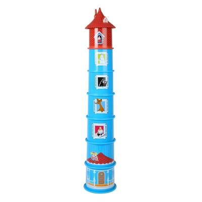 Игровой набор Moomin дом-пирамида 7 пр.