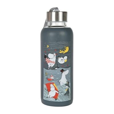 Бутылка Moomin Буря Blue 450 мл