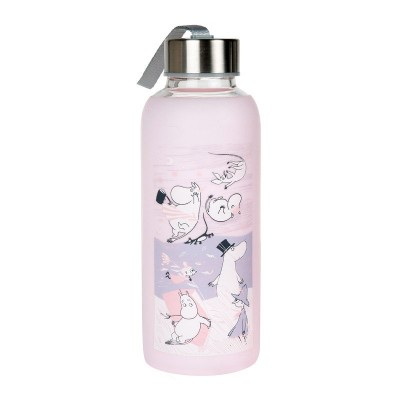 Бутылка Moomin Буря Pink 450 мл