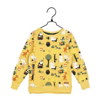 Кофта Moomin Лесная прогулка Yellow р.116