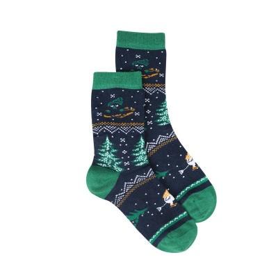 Носки Moomin Ель Blue р.35-38
