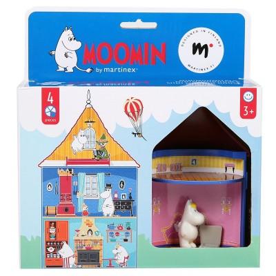 Набор фигурок  Moomin Муми-дом мини Фрекен Снорк