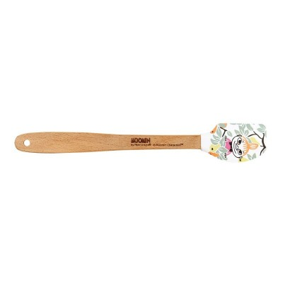 Силиконовая лопатка Moomin Garden mini