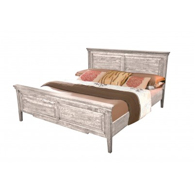 Кровать двуспальная с изголовьем  Ivory