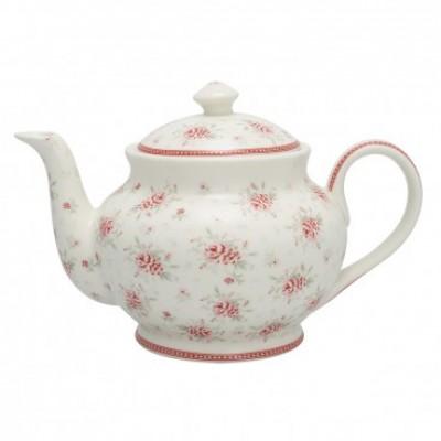 Чайник Flora white