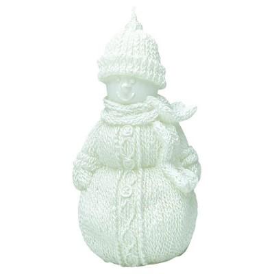 Свеча Снеговик Snowman small