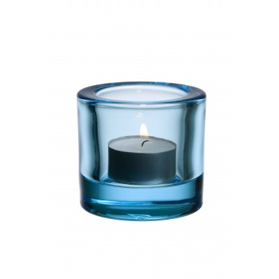 Kivi Подсвечник 60мм, светло-голубой