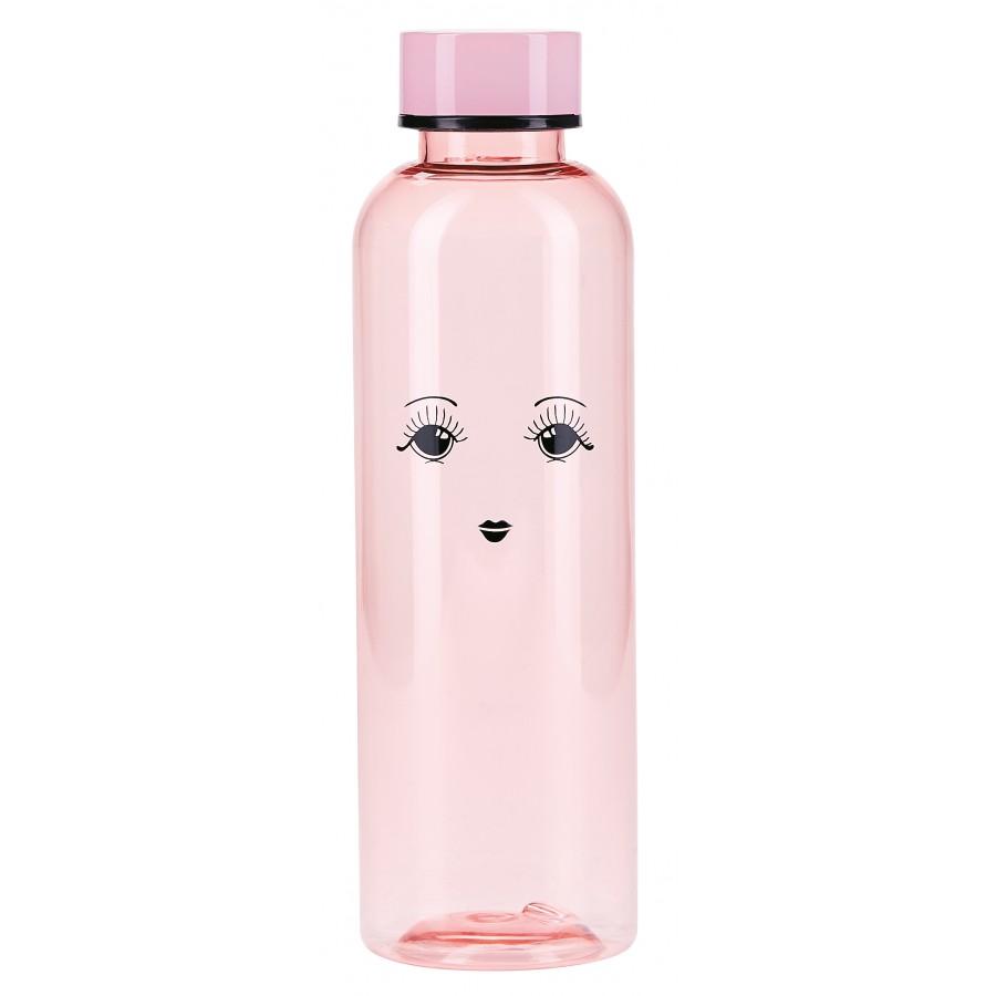 Бутылка для воды with eyes rose 22 см