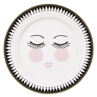 Тарелка Icons Сlosed eyes 19 см