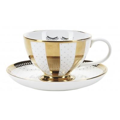 Чайная пара Gold galore