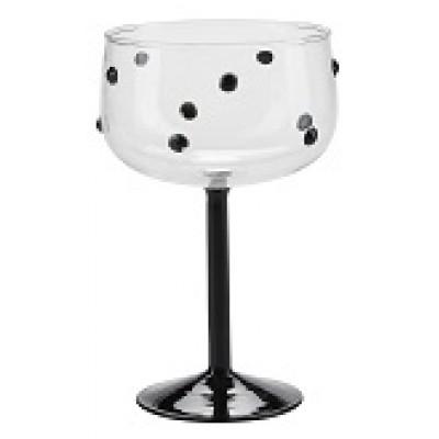 Бокал для коктейлей with black dots