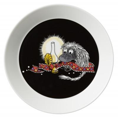 Тарелка Moomin, Предок чёрная, 19см