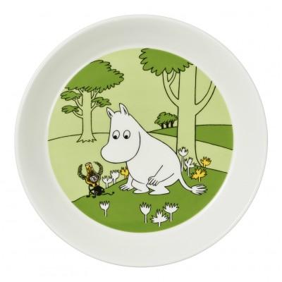 Тарелка Moomin, Муми-Тролль и Марсиане 19 см