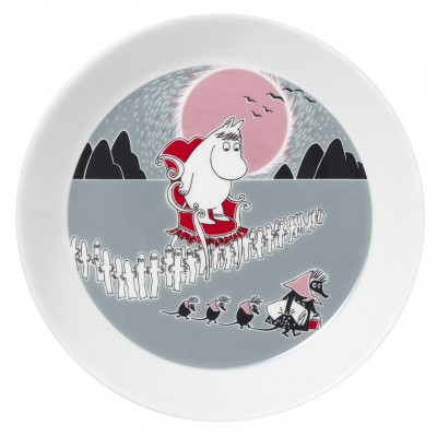 Тарелка Moomin, Приключение 19 см