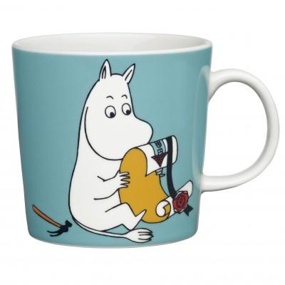 Кружка Moomin, Мумитроль бирюзовый, 0,3л