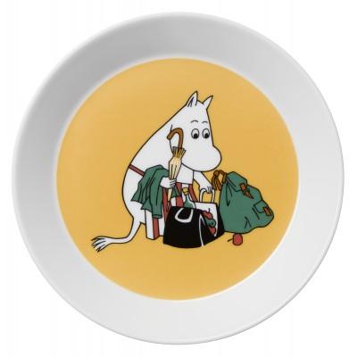 Тарелка Moomin, Муми-мама абрикосовая, 19см
