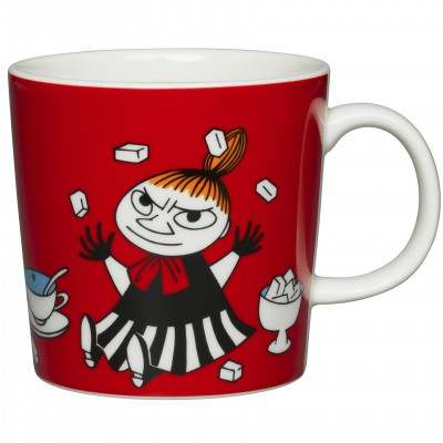 Кружка Moomin, Малышка Мю красная, 0,3л