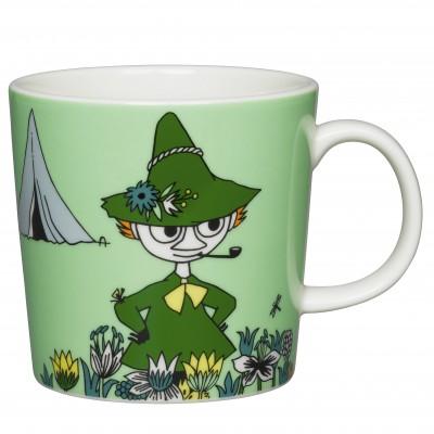 Кружка Moomin, Снусмумрик зелёная, 0,3л