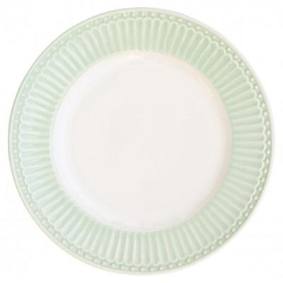 Десертная тарелка Alice pale green