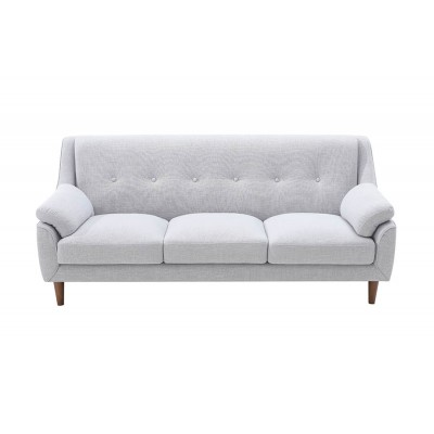 'Moon' диван трехместный , светло - серый