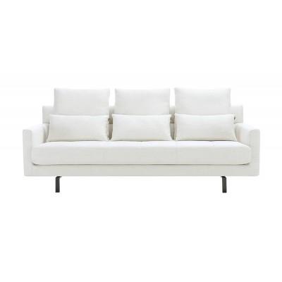 'HOODY' диван трехместный, белый