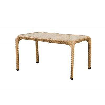 'Турин' стол серо - коричневый