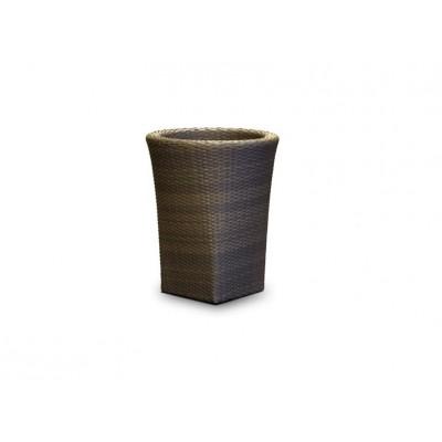 'Лукка' кашпо, цвет темно - коричневый