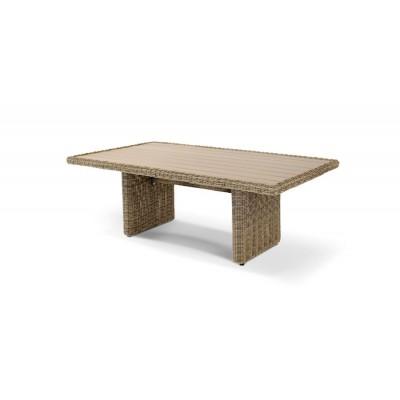 Бергамо, плетеный обеденный стол