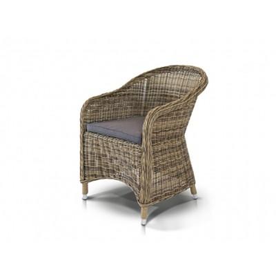 'Равенна' кресло серо-желтое