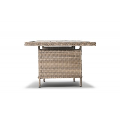 'Цесена' плетеный стол