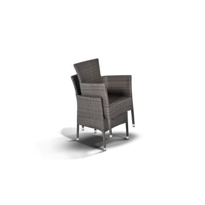 'Терни' стул серо- коричневый