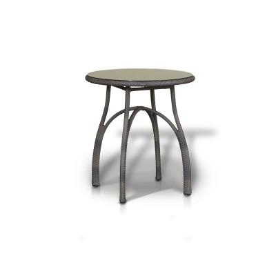'Форли' стол серо - коричневый