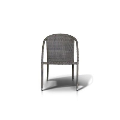 'Форли' стул серо - коричневый