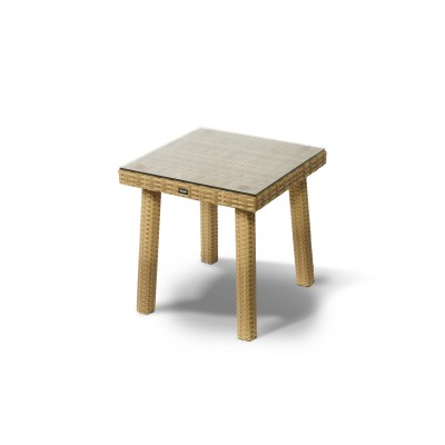 'Капри' стол к шезлонгу желтый
