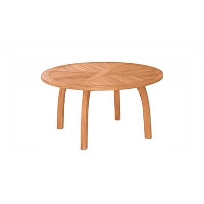 'Модена' круглый стол из тика, 150 см.