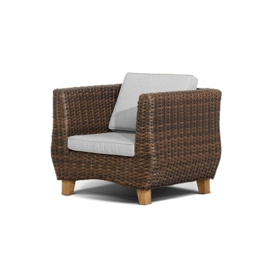 'Нола' кресло  темно-коричневое