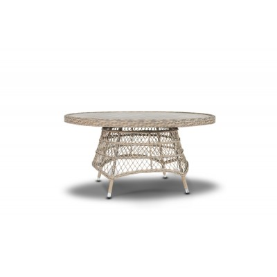 'Неаполь' плетеный обеденный стол
