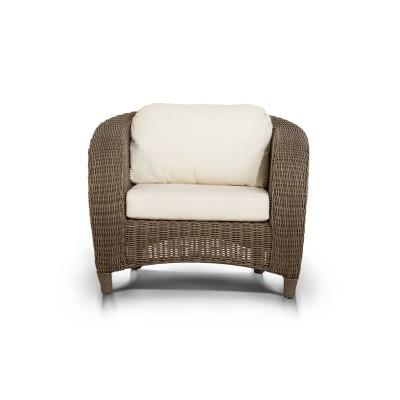 'Ривьера' кресло коричневое