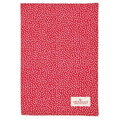 Полотенце Dot red 50x70 см