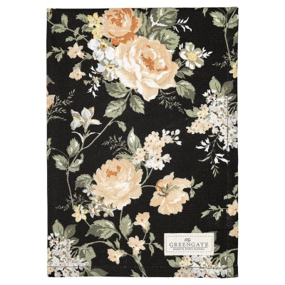 Полотенце Josephine black 50x70 см