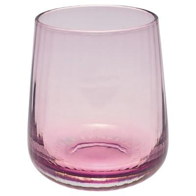 Стакан стеклянный Flute plum small