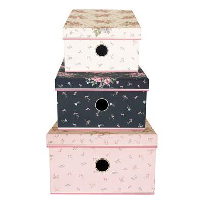 Набор из 3-х коробок Marley pale pink
