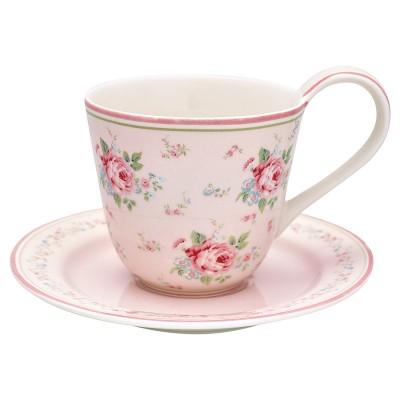 Чайная пара Marley pale pink 270 мл