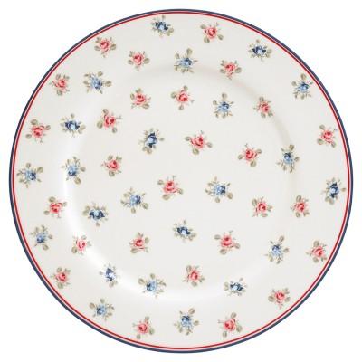 Блюдо Hailey white 25 см