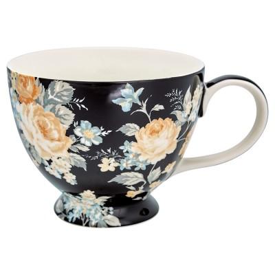 Чайная чашка Josephine black 400 мл