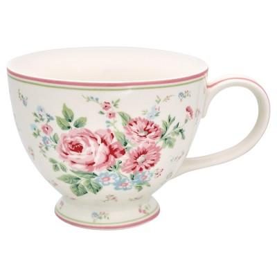 Чайная чашка Marley white 400 мл