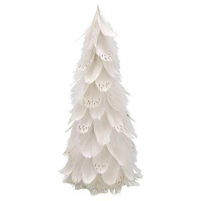 Рождественское дерево white large
