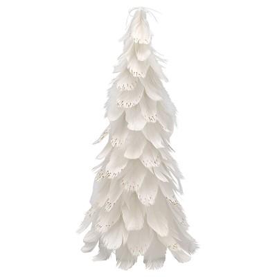 Рождественское дерево white medium