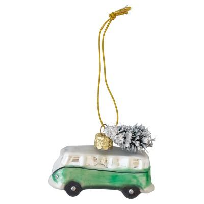 Елочная игрушка Фургончик Marley pale green small