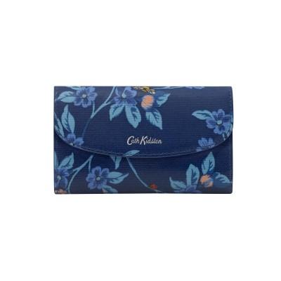 Кошелек складной Greenwich Flowers Midnight Blue